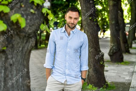 Editorial image of Singer and TV presenter, Mans Zelmerlow photoshoot, Sweden - 01 Jun 2020