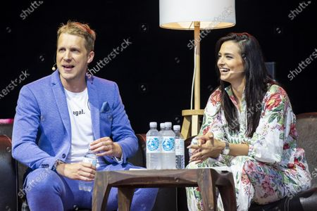 Amira and Oliver Pocher