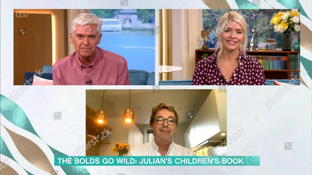 Phillip Schofield, Holly Willoughby, Julian Clary