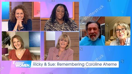 Editorial picture of 'Loose Women' TV show, London, UK - 02 Jul 2020