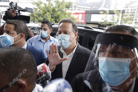 Editorial image of Former Presidents Varela and Martinelli summoned for questioning on Odebrecht case, Panama City - 02 Jul 2020