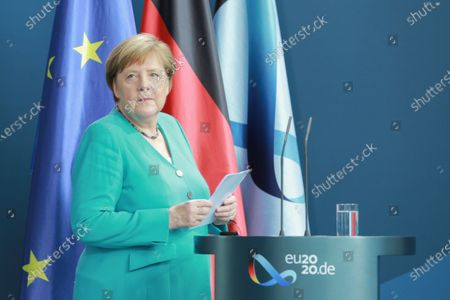 Takeover of the German EU Council Presidency news conference, Berlin