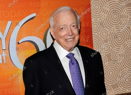 "Hugh Downs at the ""Today"" show 60th anniversary celebration in New York. Downs, a genial and near-constant presence on television from the 1950s through the 1990s, has died. His family said Downs died of natural causes, in Scottsdale, Ariz. He was 99. Downs was a host of the 'Today' show on NBC, worked on the 'Tonight' show when Jack Paar was in charge, and hosted the long-running game show ""Concentration"