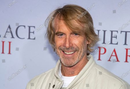 "Stock Photo of Michael Bay attends the world premiere of ""A Quiet Place Part II"" in New York. The union that represents film actors is telling its members not to work on the pandemic thriller ""Songbird,"" one of the first films in production after coronavirus closures. The Screen Actors Guild-American Federation of Television and Radio Actors issued a do not work order Thursday, saying the filmmakers have not been transparent about safety protocols and had not signed the proper agreements with the union. The movie, produced by Michael Bay and directed by Adam Mason, had reportedly been preparing its actors remotely under locked down conditions for the shoot"