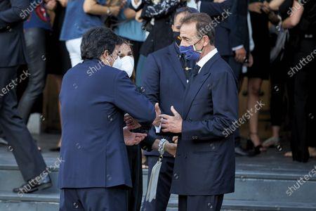 Editorial image of Funeral of Aless Lequio, Madrid, Spain - 01 Jul 2020