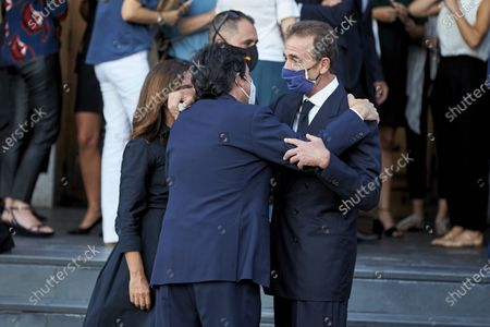 Editorial picture of Funeral of Aless Lequio, Madrid, Spain - 01 Jul 2020