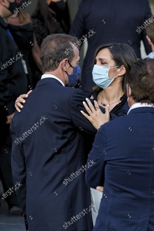 Editorial photo of Funeral of Aless Lequio, Madrid, Spain - 01 Jul 2020