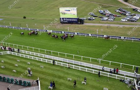Serpentine ridden by Emmet McNamara (right) wins the Investec Derby at Epsom Racecourse. PA Photo. Issue date: Saturday July 4, 2020. See PA story RACING Epsom. Photo credit should read: David Davies/PA Wire