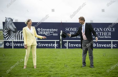 Editorial picture of Investec Epsom Derby Festival, Horse Racing Epsom Downs Racecourse, 04 Jul 2020