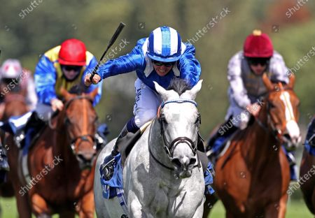 Montatham ridden by Jim Crowley wins the Coral Challenge at Sandown Park Racecourse. PA Photo. Issue date: Sunday July 5, 2020. See PA story RACING Sandown. Photo credit should read: David Davies/PA Wire, supplied by Hugh Routledge.