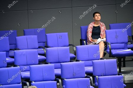Editorial picture of Plenary session at the Bundestag, Berlin, Germany - 02 Jul 2020