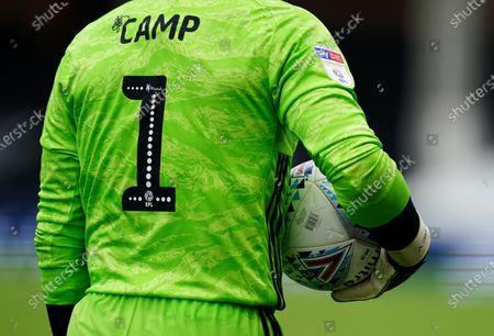 Goalkeeper Lee Camp of Birmingham City
