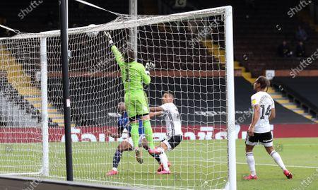 Lee Camp goalkeeper of Birmingham City  saves