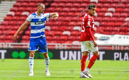 Stock Picture of Dominic Ball of QPR and Ravel Morrison of Middlesbrough