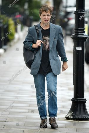 Editorial photo of Tom Odell out and about, London, UK - 03 July 2020