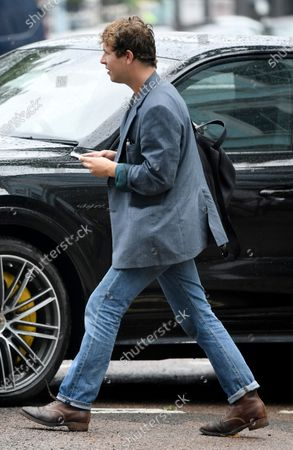 Editorial image of Tom Odell out and about, London, UK - 03 July 2020