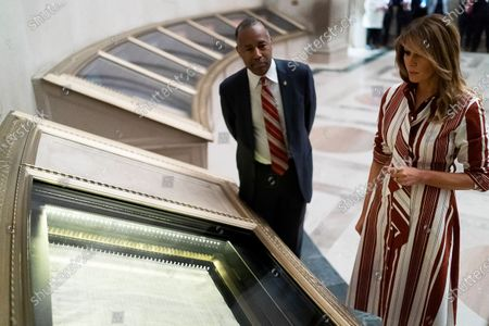 Editorial picture of The First Lady visits the National Archives Museum, Washington DC, USA - 18 Jun 2020