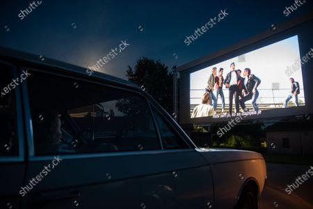 Editorial picture of Drive-in cinema in Ptuj, Slovenia - 03 Jul 2020