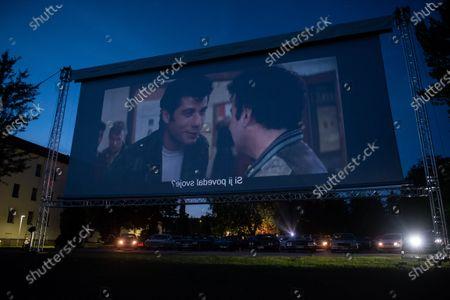 Editorial photo of Drive-in cinema in Ptuj, Slovenia - 03 Jul 2020