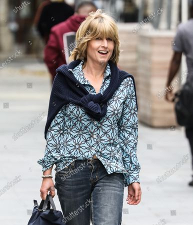 Rachel Johnson arrives at The Global Radio Studios In London.