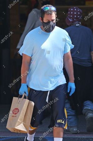 Editorial picture of Adam Sandler out and about, Los Angeles, California, USA - 04 Jul 2020