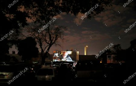 Editorial image of Virus Outbreak Cinema, Asuncion, Paraguay - 04 Jul 2020
