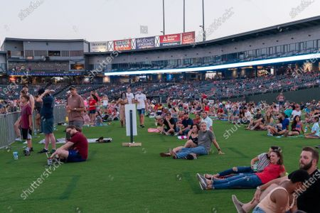 Editorial picture of Granger Smith Fourth of July concert, Round Rock, Dell Diamond, Texas, USA - 04 Jul 2020