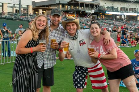 Editorial photo of Granger Smith Fourth of July concert, Round Rock, Dell Diamond, Texas, USA - 04 Jul 2020