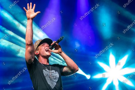 Stock Photo of County music artist Granger Smith headlines a special socially distanced concert and fireworks event