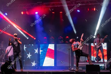 Stock Image of County music artist Granger Smith headlines a special socially distanced concert and fireworks event