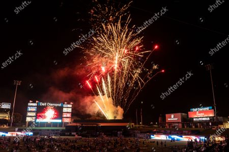 Editorial image of Granger Smith Fourth of July concert, Round Rock, Dell Diamond, Texas, USA - 04 Jul 2020