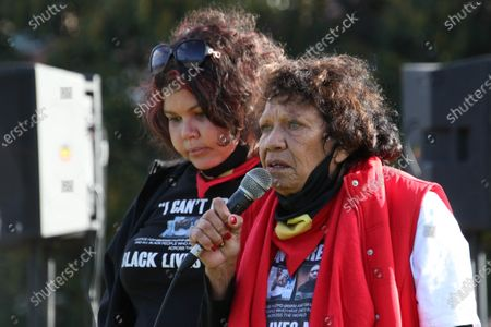 Leetona Dungay mother of David Dungay, who died while being restrained by Long Bay jail prison guards in 2015.