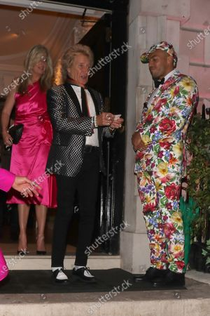 Editorial picture of Penny Lancaster and Rod Stewart out and about, London, UK - 04 Jul 2020