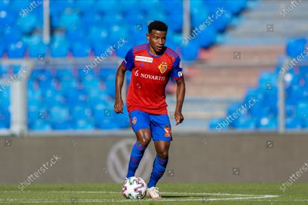 Stock Image of Eric Ramires (Basel) on the ball