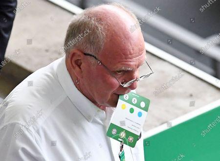 Uli Hoeness (former FCB President) , with ticket