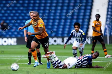 Editorial photo of West Bromwich Albion v Hull City, UK - 05 Jul 2020
