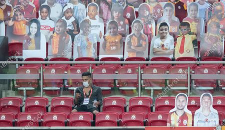 Editorial picture of Galatasaray vs Trabzonspor, Istanbul, Turkey - 05 Jul 2020