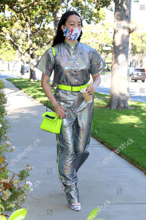 Editorial picture of Yi Zhou out and about, Los Angeles, USA - 04 Jul 2020