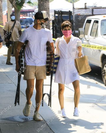 Editorial image of Selma Blair out and about, Los Angeles, USA - 05 Jul 2020