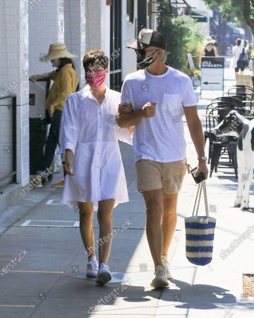 Editorial photo of Selma Blair out and about, Los Angeles, USA - 05 Jul 2020