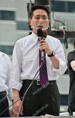 Editorial photo of Tokyo gubernatorial election campaign, Tokyo, Japan - 03 Jul 2020