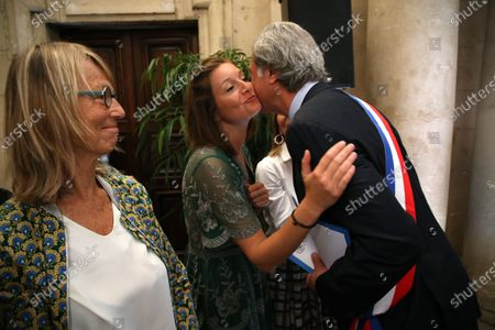 Editorial image of Patrick De Carolis elected new mayor of Arles, France - 05 Jul 2020
