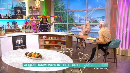 Holly Willoughby, Phillip Schofield and Alison Hammond