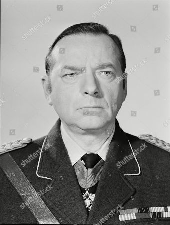Stock Photo of George Pravda as Count Von Streicher