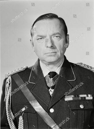 Stock Image of George Pravda as Count Von Streicher