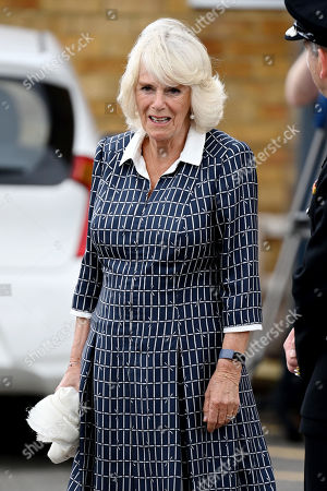 Camilla Duchess of Cornwall visit to Swindon