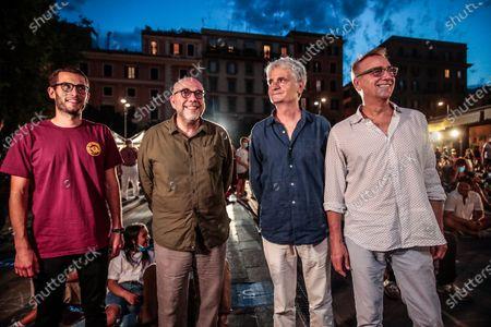 Editorial image of Movie arena ' Il cinema in piazza' Rome, Italy - 03 Jul 2020