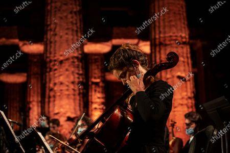 Editorial image of ' Le vide dell'amicizia' concert for Syria, Paestum, Italy - 05 Jul 2020