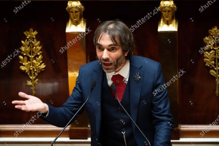Editorial picture of Paris National Assembly Coronavirus debate, Paris, France - 27 May 2020