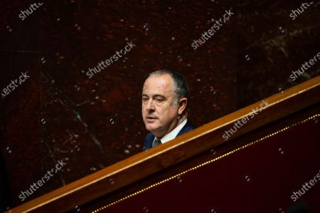 French minister of agriculture Didier Guillaume during the debate at the french National Assembly about the vote of the application stop covid-19, on May 27, 2020, as France eases lockdown measures taken to curb the spread of the COVID-19 pandemic, caused by the novel coronavirus.